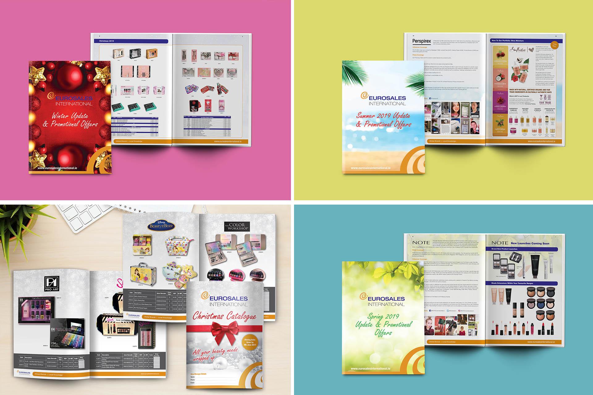 Eurosales Quarterly Product Brochures