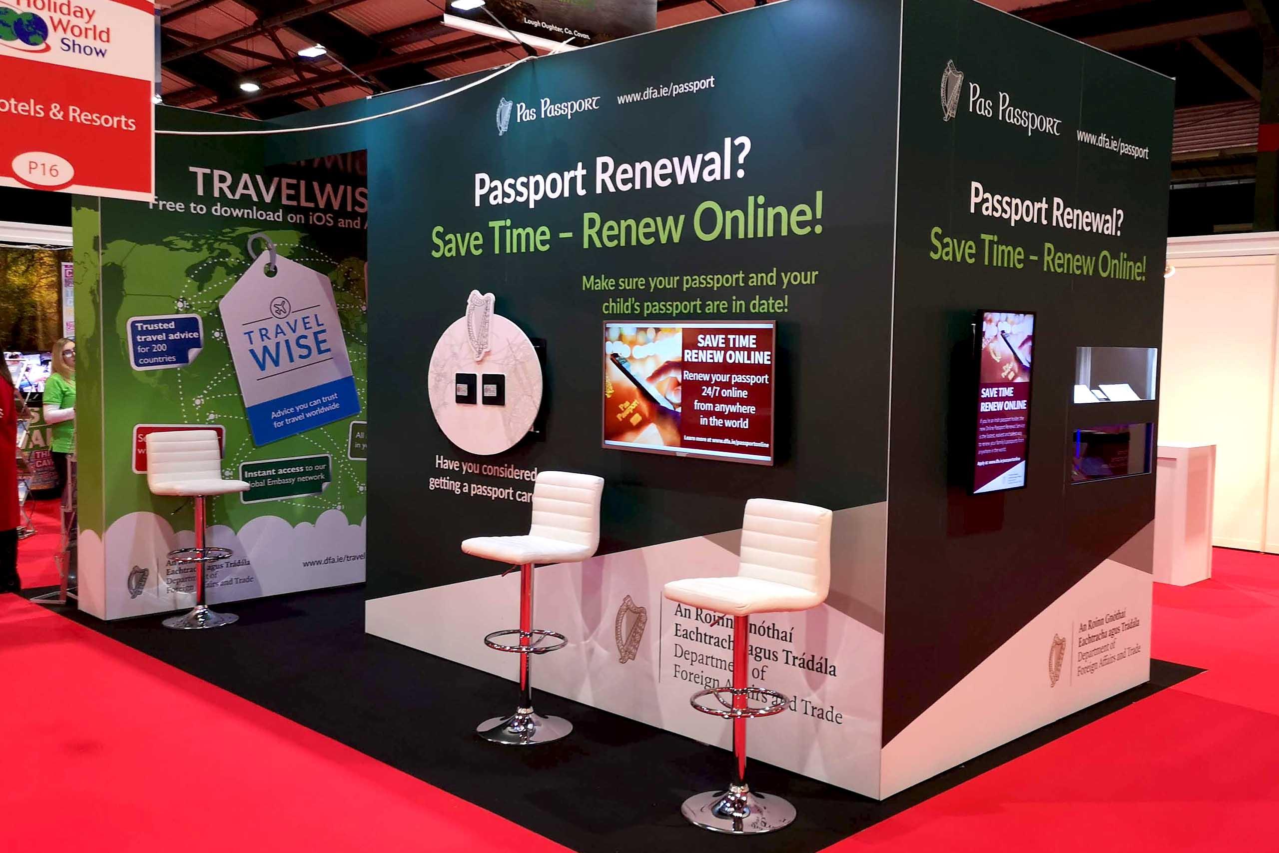 Passport Services Stand 03