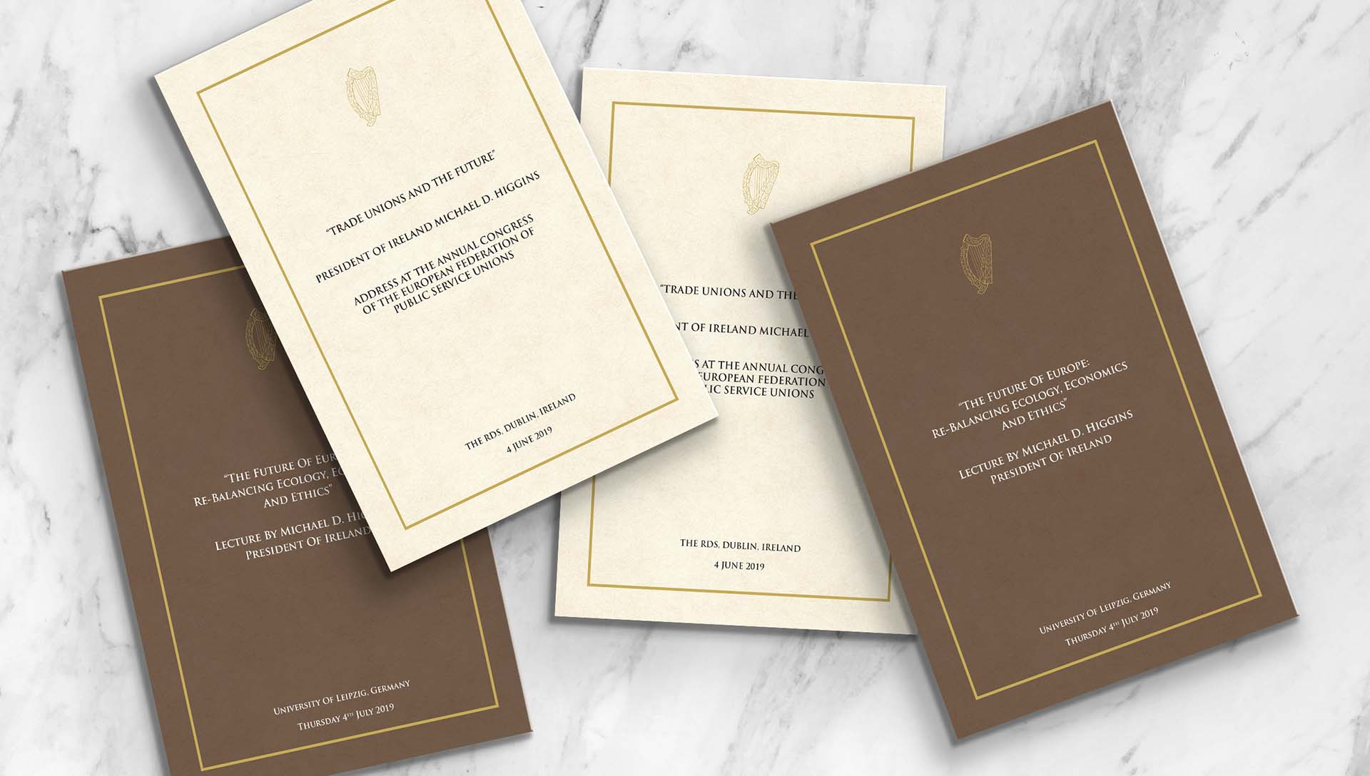 President Speech Booklets